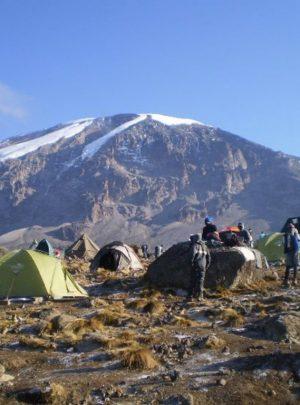 karanga hut, kilimanjaro